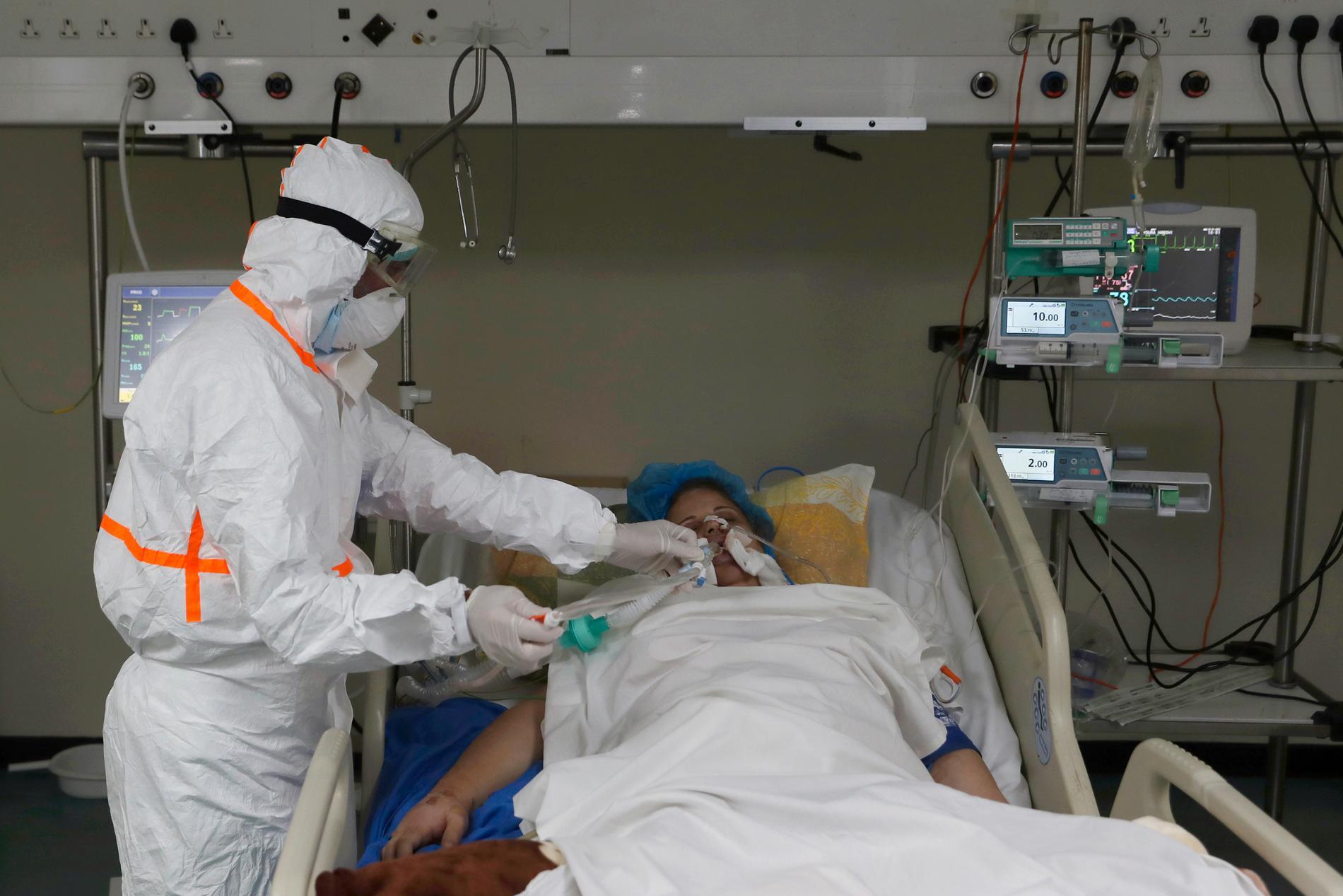 Sjukvård i Beirut.