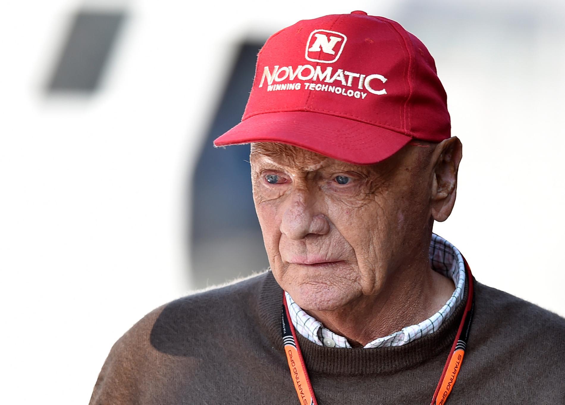 Niki Lauda, trefaldig mästare i F1