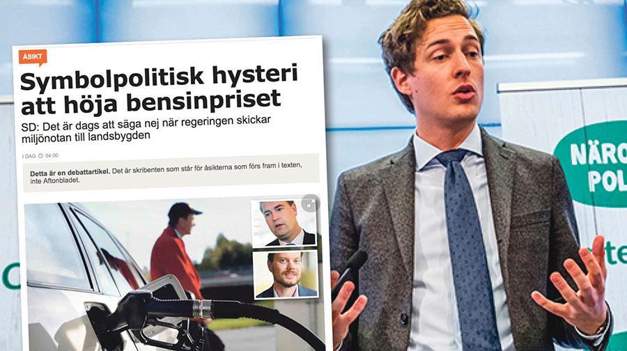Tvärt emot vad SD påstår så har Centerpartiet lyckats stoppa en extraskatt på bensin, skriver Emil Källström.