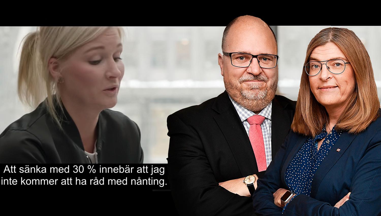 Moderaternas politik hotar inte bara den svenska modellen, som innebär att fack och arbetsgivare förhandlar om lönerna på svensk arbetsmarknad, utan hela den fria förhandlingsrätten, skriver debattörerna.