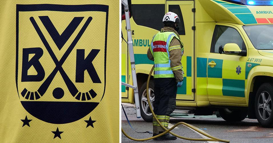 Bandyklubb i chock efter frontalkrock i Småland