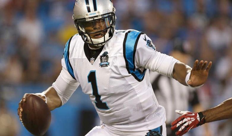 Cam Newton, fyra på veckans lista.