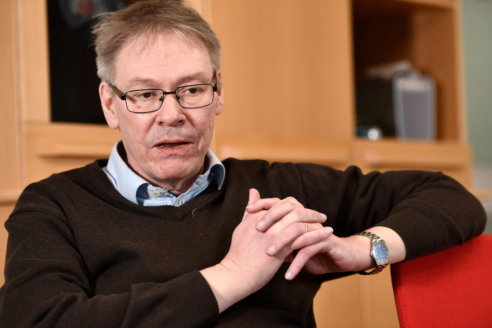 Krister Petersson, förundersökningsledare är chefsåklagare i polisutredningen kring Palmemordet.