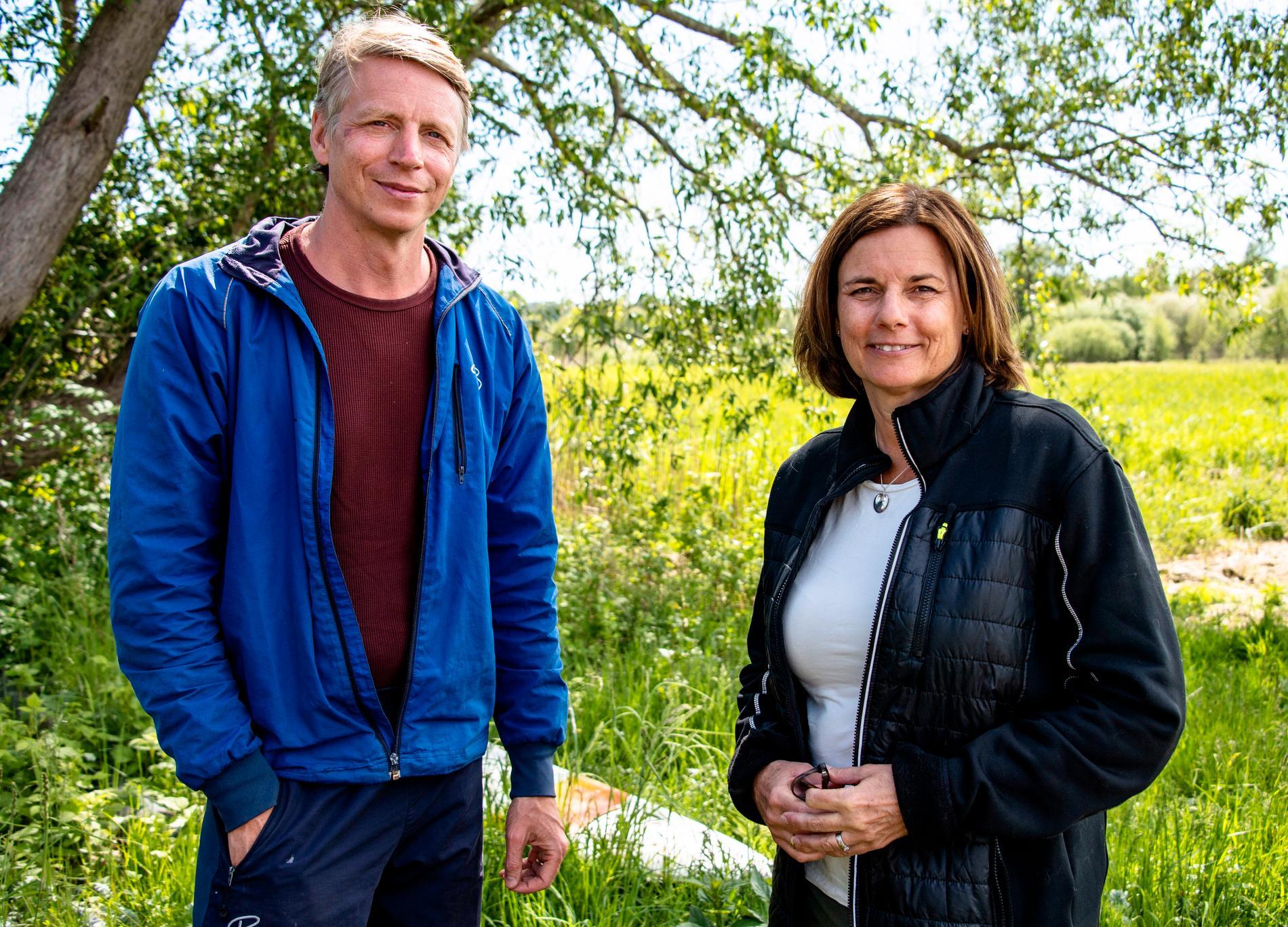 Per Bolund och Isabella Lövin vill se en grön återstart av ekonomin efter pandemin.