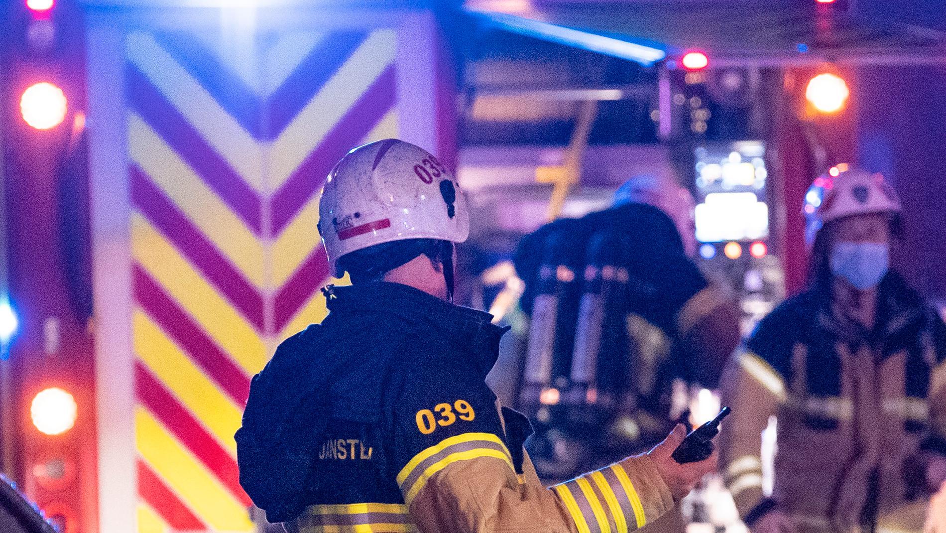 Många bilar förstördes i en brand i Umeå. Arkivbild.