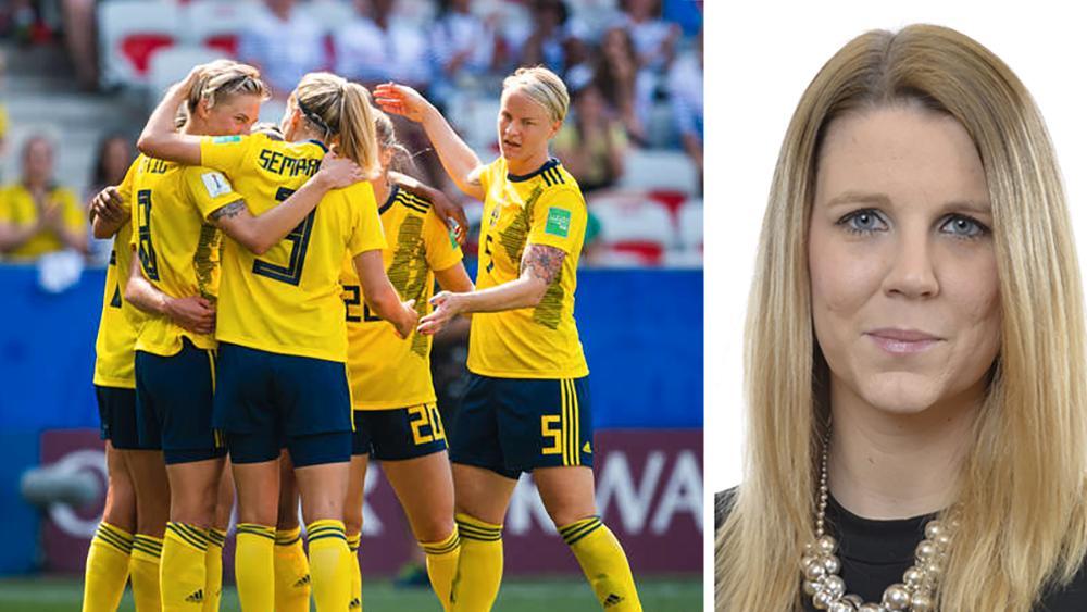 Vi måste fortsätta verka för att statliga medel fördelas jämlikt inom idrottsrörelsen, skriver Anna Wallentheim (S).