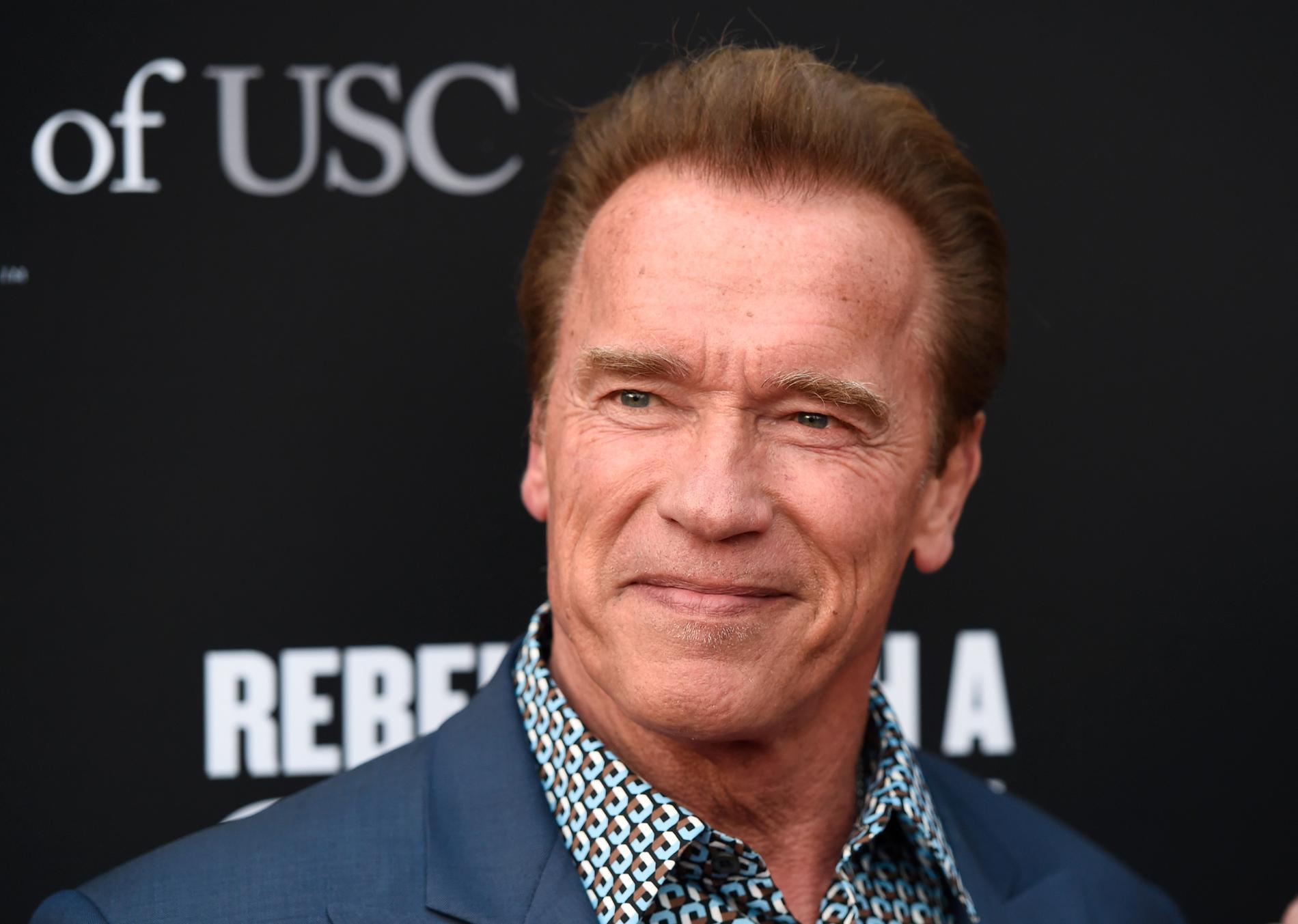 """Schwarzenegger kan tvingas säga """"Hasta la vista"""" sin gamla paradroll"""