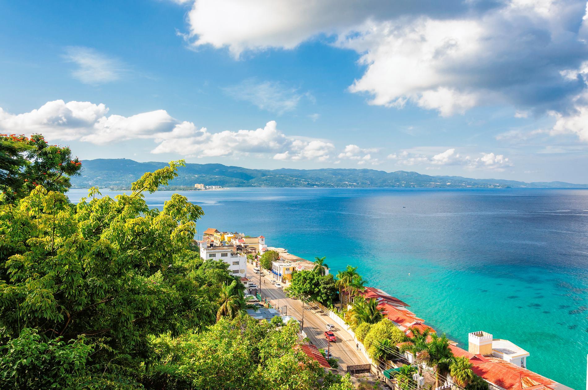 Montego Bay är en populär ort på Jamaica.