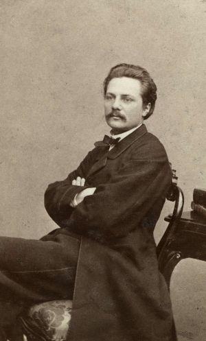 Artur Hazelius, porträtt från 1860-talet.