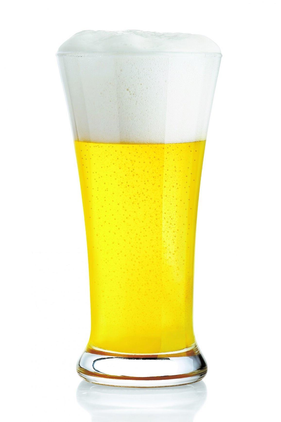 På Palæ Bar finns friska Carlsberg Hvede på tapp.