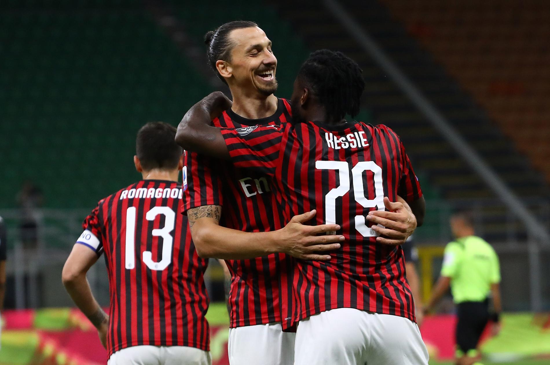 Zlatan stod för ett mål och en assist.