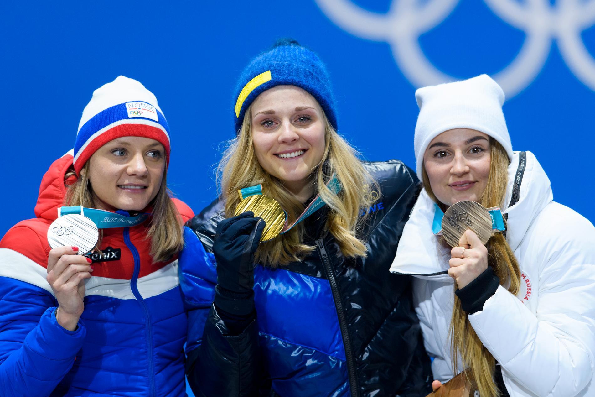 Yulia Belorukova med OS-bronset