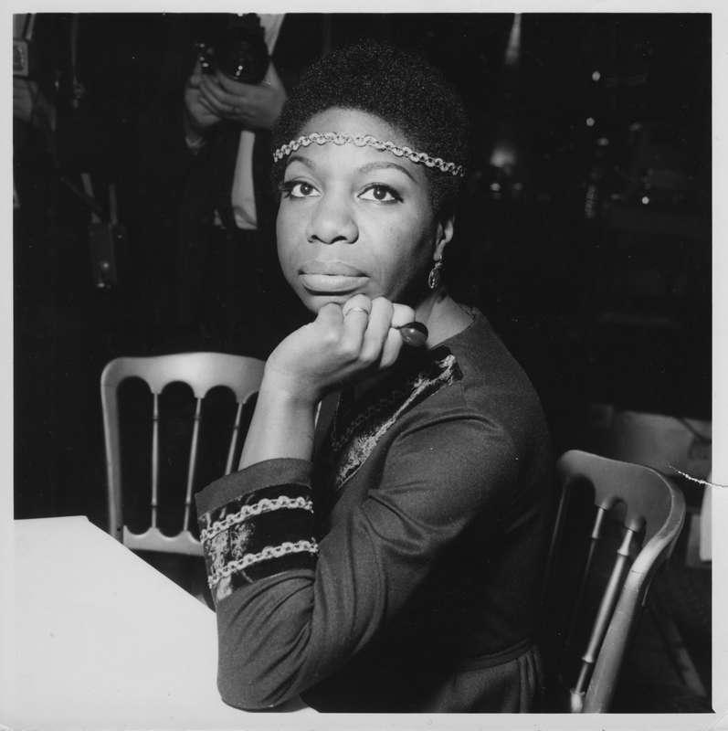"""Nina Simone i dokumentären """"What happened, miss Simone?"""" som har premiär på Netflix i dag."""