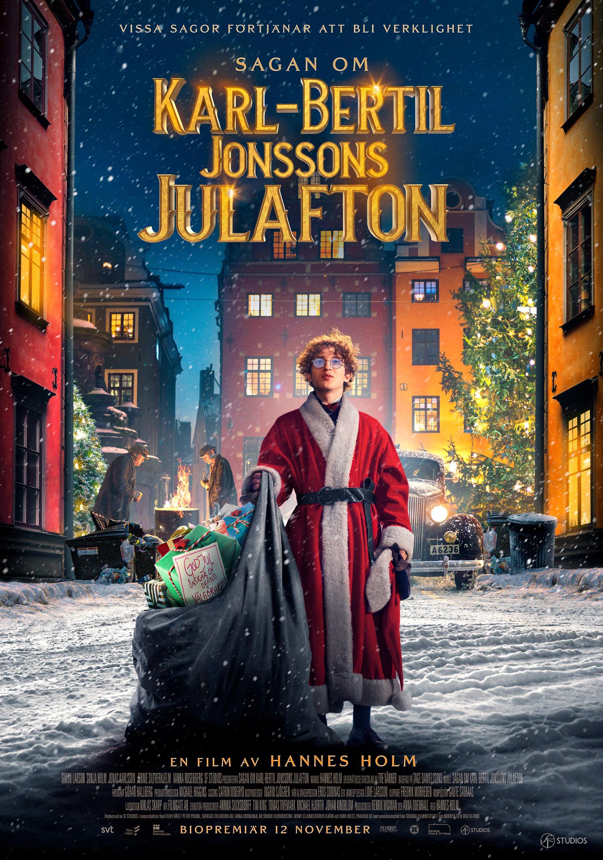 """""""Sagan om Karl-Bertil Jonsson julafton"""" har biopremiär 12 november"""