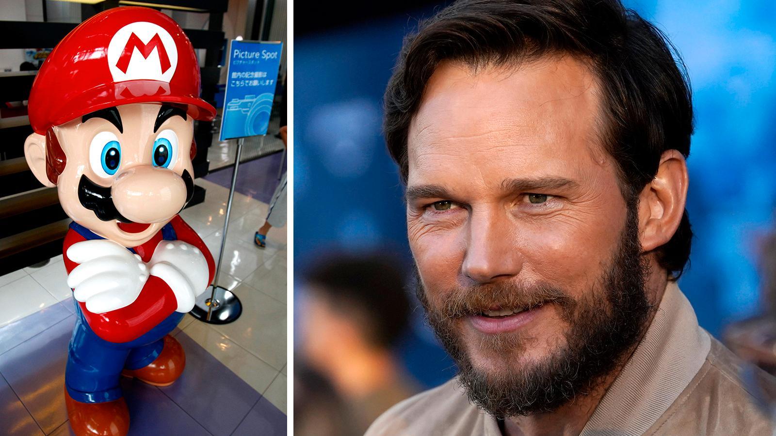 Chris Pratt ger röst åt Super Mario i kommande filmen.