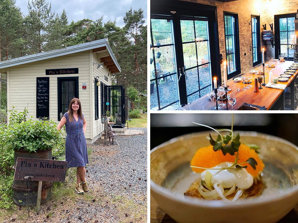 Många tvivlade på Pia Idberg när hon bestämde sig för att starta restaurang i en friggebod utanför Kristianstad.