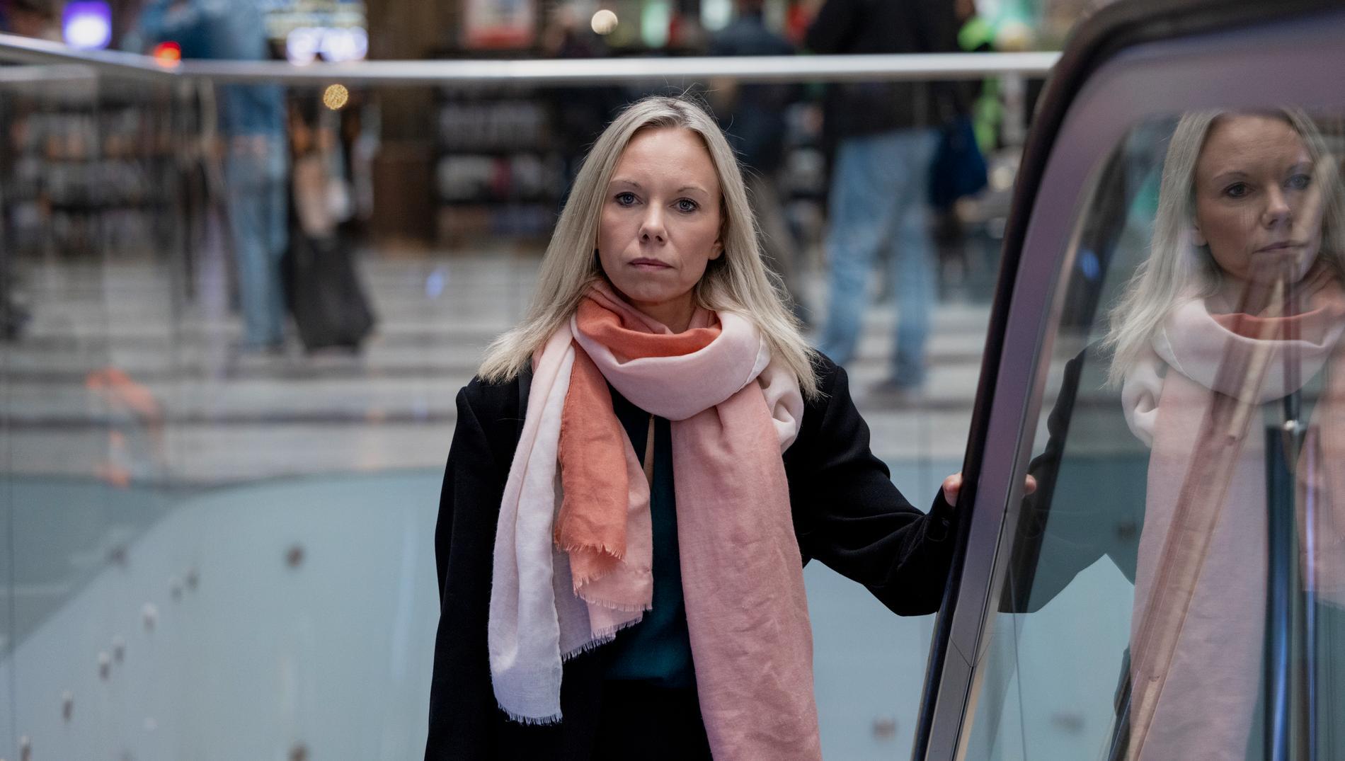 Jessica Ivarsson är ordförande i Brinn för barnen.
