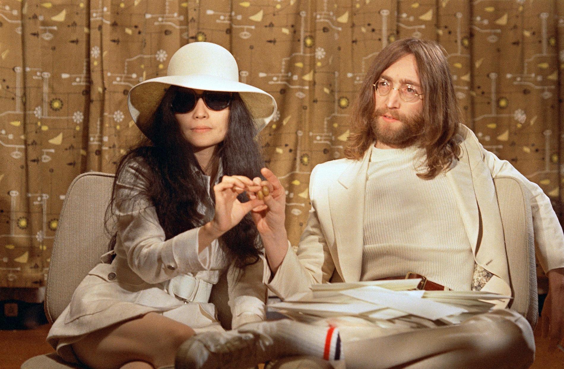 Äktenskapet mellan Ono och Lennon var tidvis väldigt turbulent.