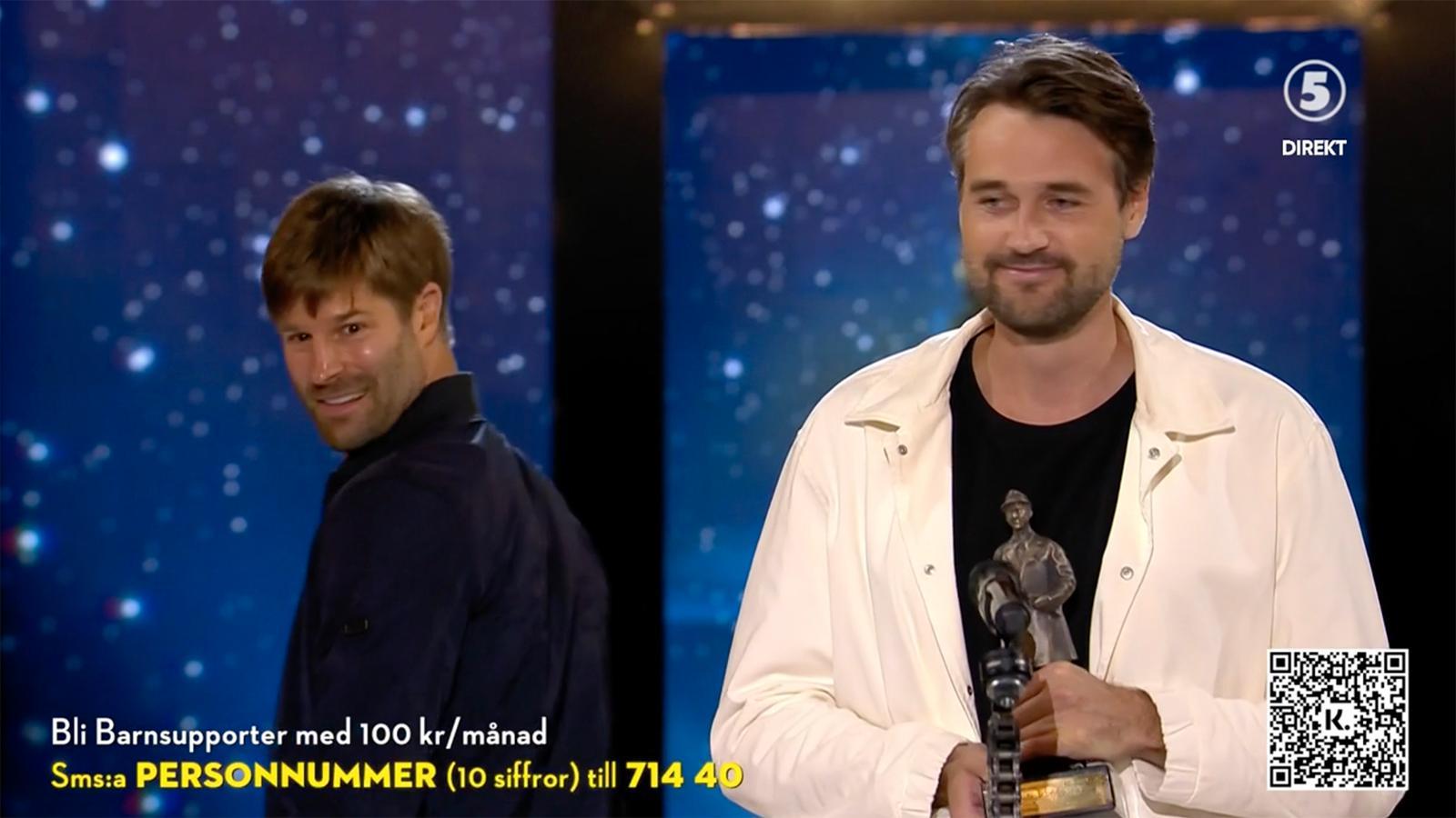 """Freudian Slip Productions vann Aftonbladets pris för årets humorklipp för """"Coronakriget""""."""