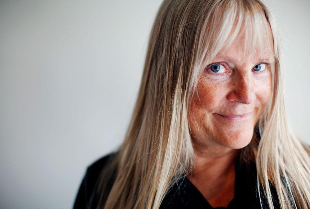 """BLUNDA OCH SE LURIG UT Ulla Skoog berättar att det finns många knep för att få publiken med på noterna, bland annat att """"blunda och se lurig ut""""."""