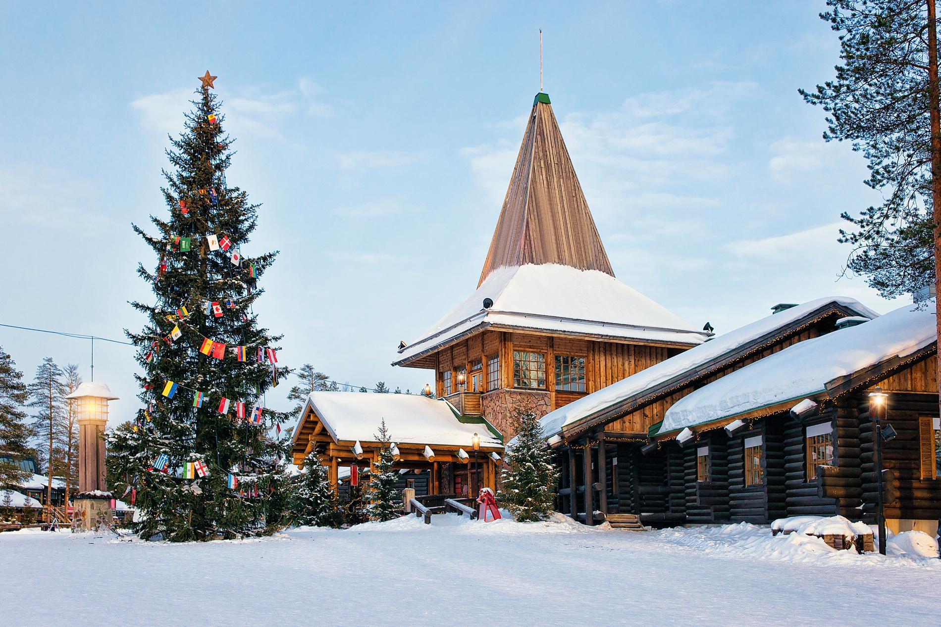 Tomtens by i finska Lappland anses vara väldigt julig.