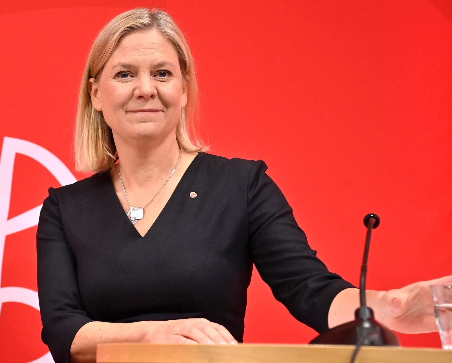 Samtliga S-distrikt har tidigare nominerat Magdalena Andersson som ny partiledare.