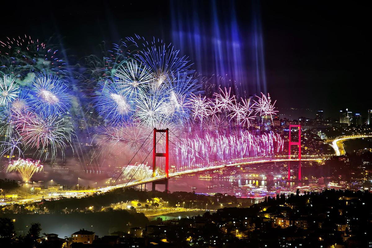 På baren ROOF16 i Istanbul får du uppleva staden både från väst och öst.