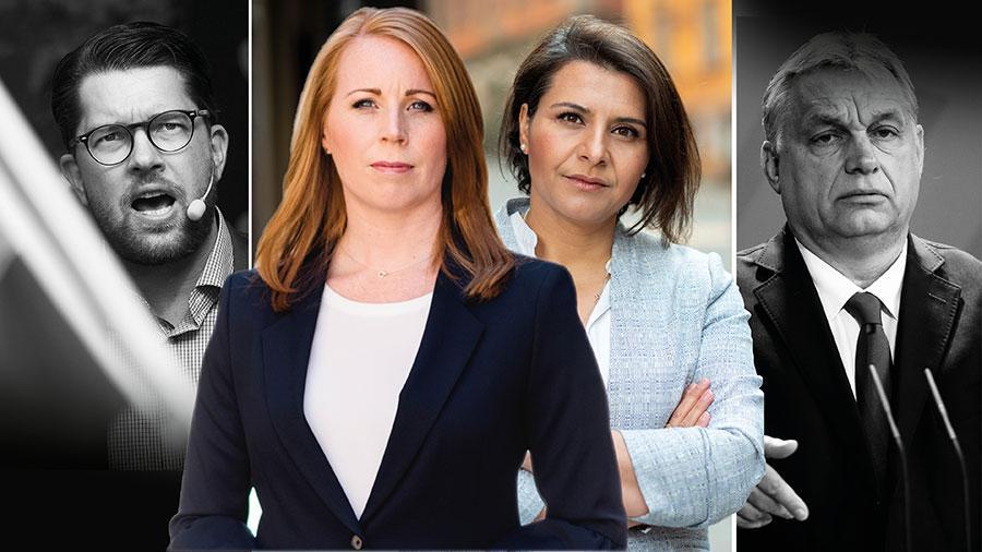 Populistpartiernas retorik bidrar till att förgrova den politiska debatten, att leta syndabockar i stället för lösningar och att försvåra handlingskraftiga parlamentariska majoriteter. Sverige och Europa behöver mer liberal politik, skriver Annie Lööf och Abir Al-Sahlani.