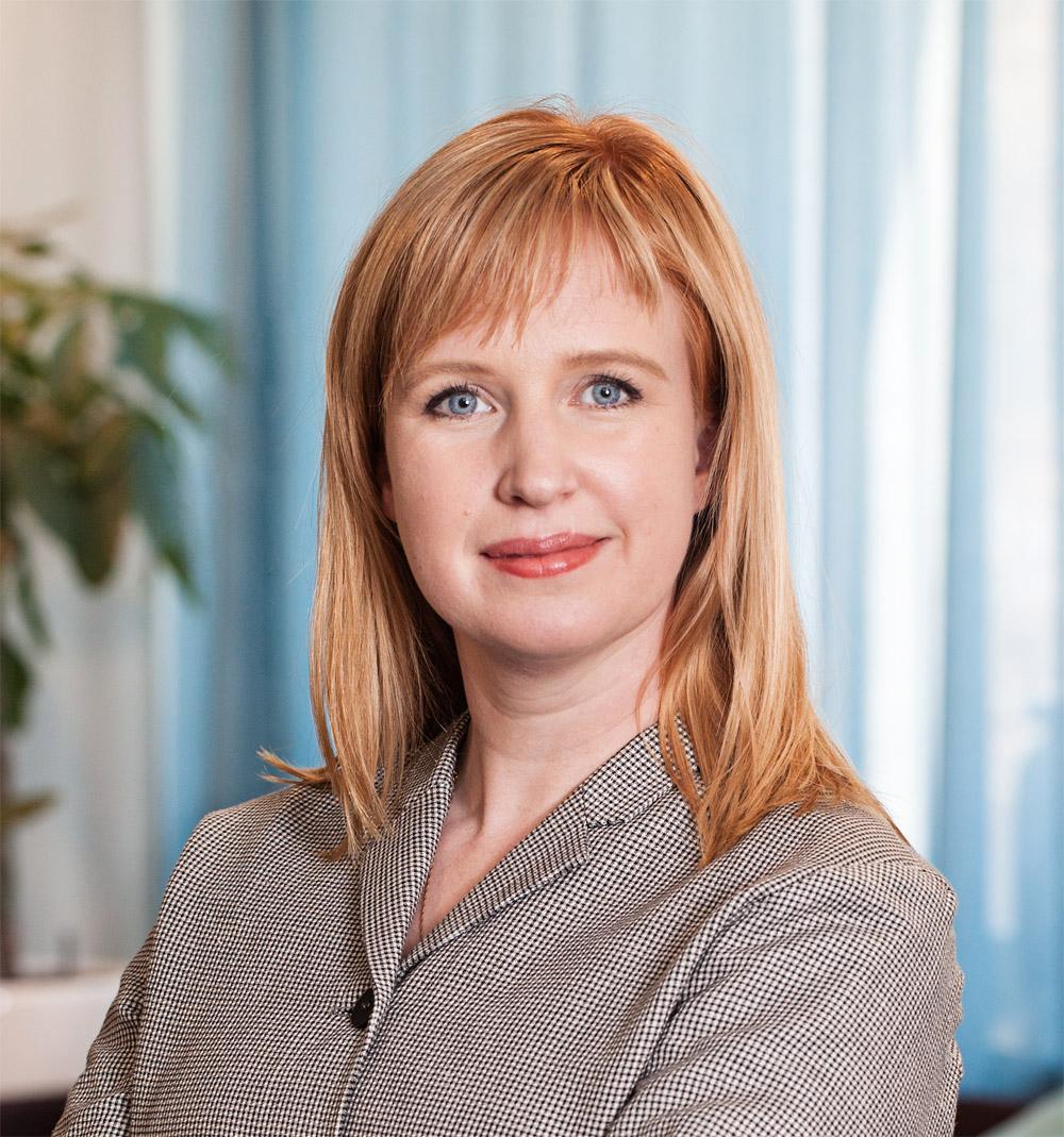 Förbundsjurist Veera Littmarck.