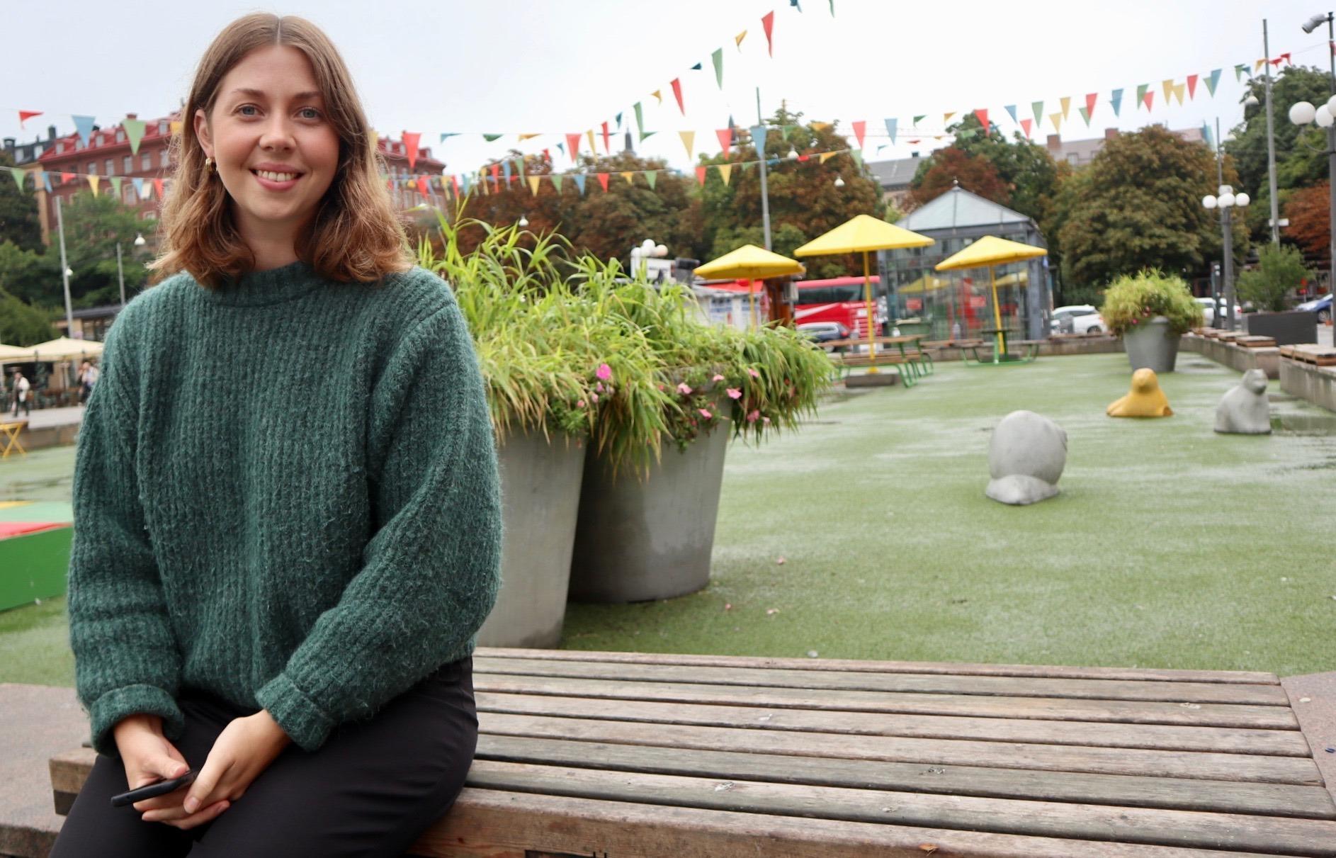 Ellen Berkemar är projektledare för RFSU Student.