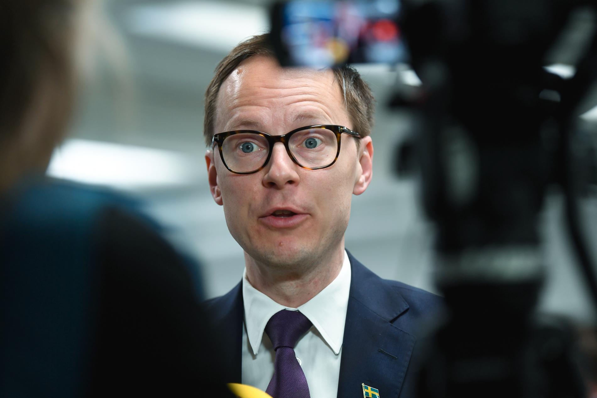 Mats Persson, ekonomisk-politisk talesperson i Liberalerna. Arkivbild.