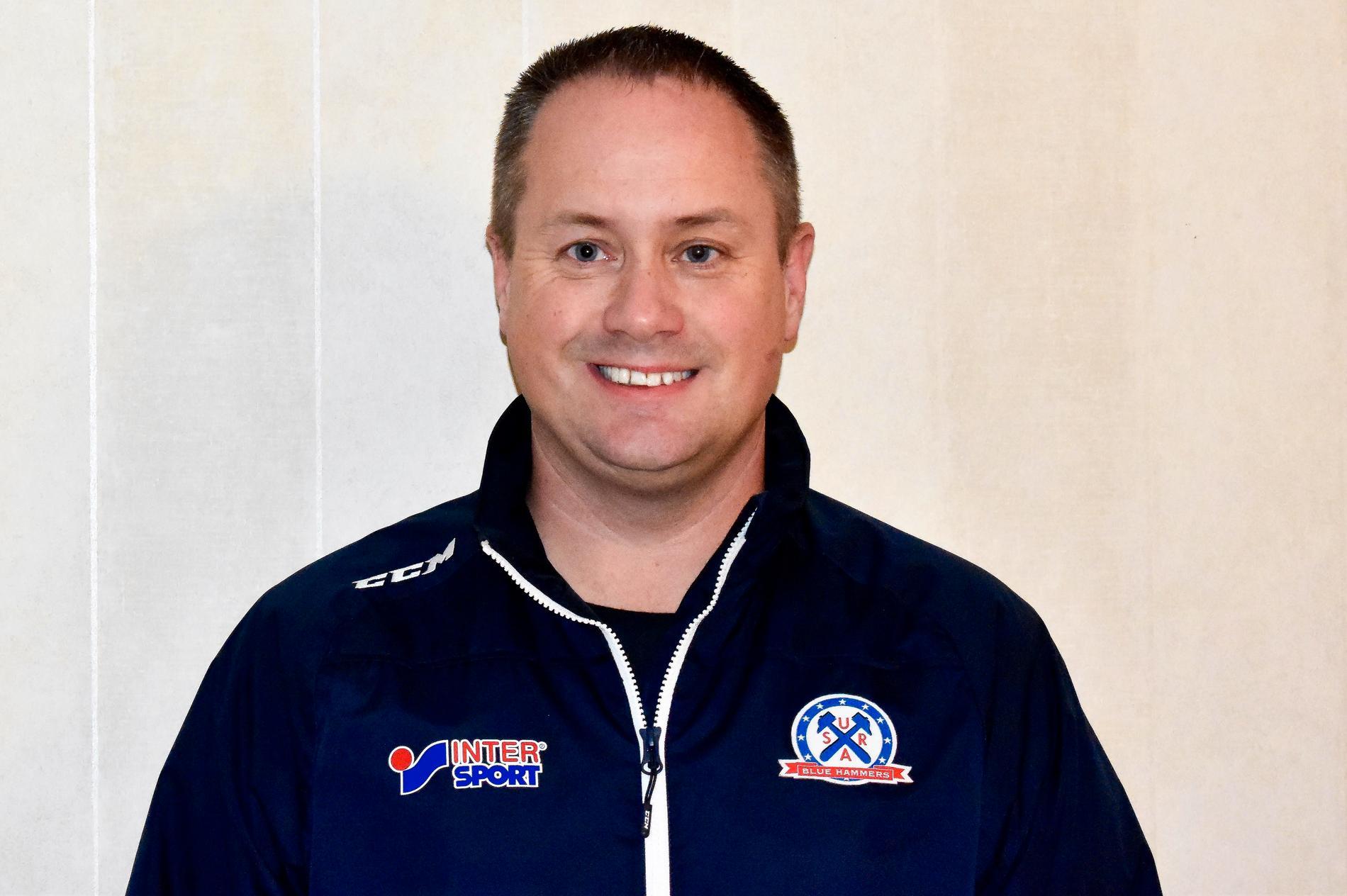 Mattias Forsberg, vice ordförande i Surahammars IF.