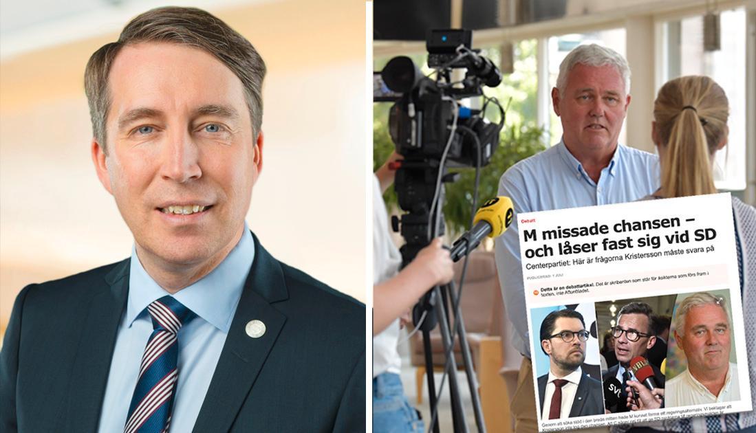 SD:s mål är att på allvar ta tag i alla de problem som  Anders W Jonsson och Centerpartiet skapat.