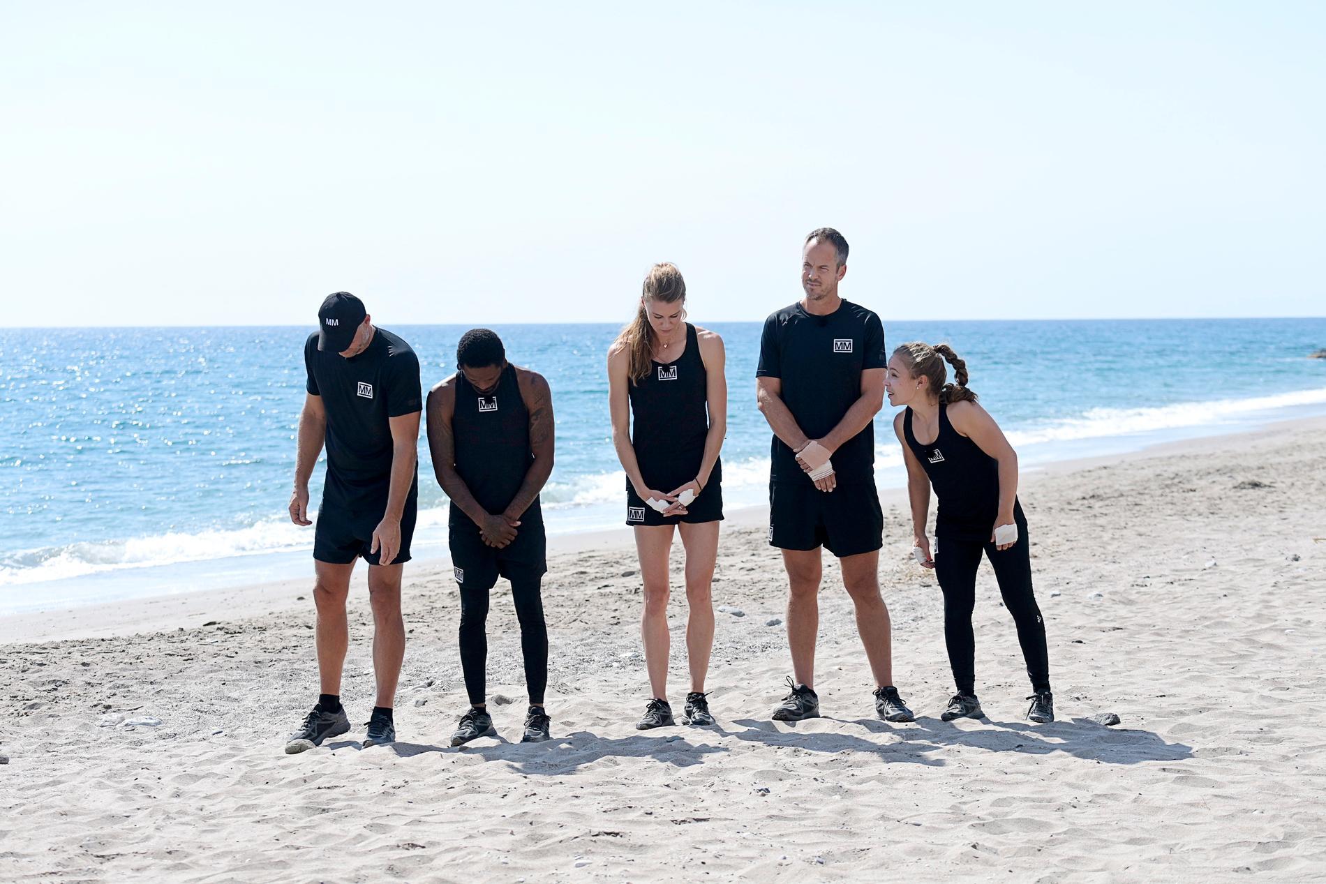 """""""Det var lite kul precis när vi skulle starta tävlingen och såg en man komma upp från stranden naken, då tappade man fokus lite grann"""", säger Ola Lindgren."""