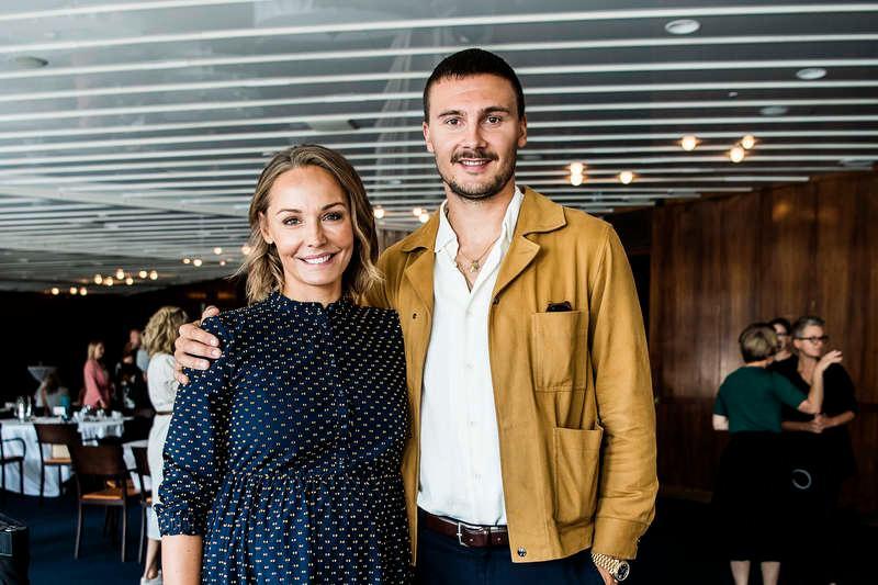 """Carina Berg och hennes man Erik Berg berättar om sina egna svårigheter med att få barn i programmet """"Var fan är storken?""""."""