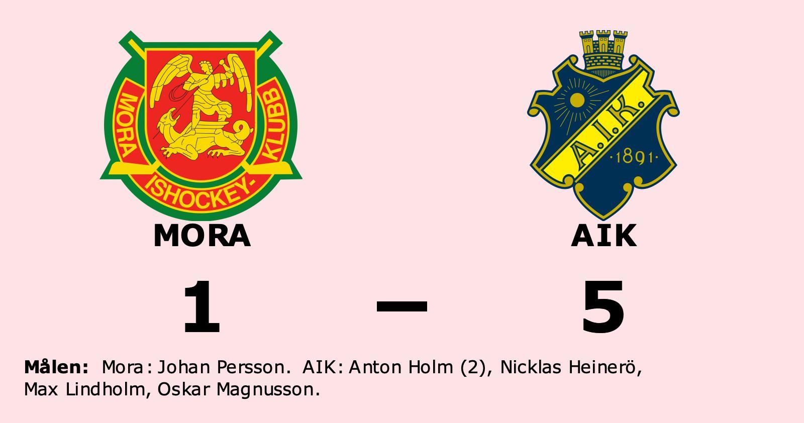 AIK segrare borta mot Mora