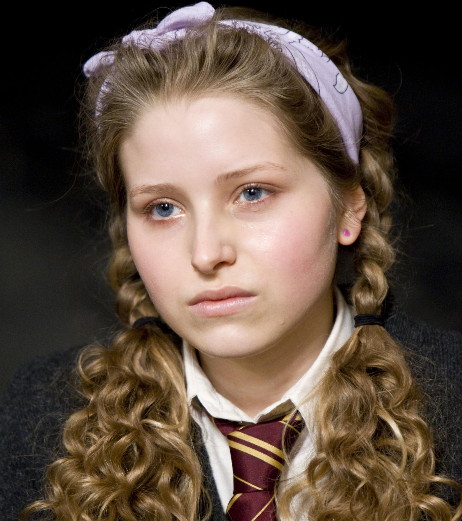Jessie Cave som Lavender Brown.
