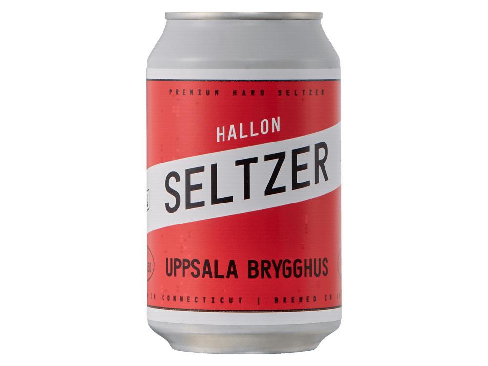 Hard seltzer tillverkad i Uppsala av Uppsala Brygghus.