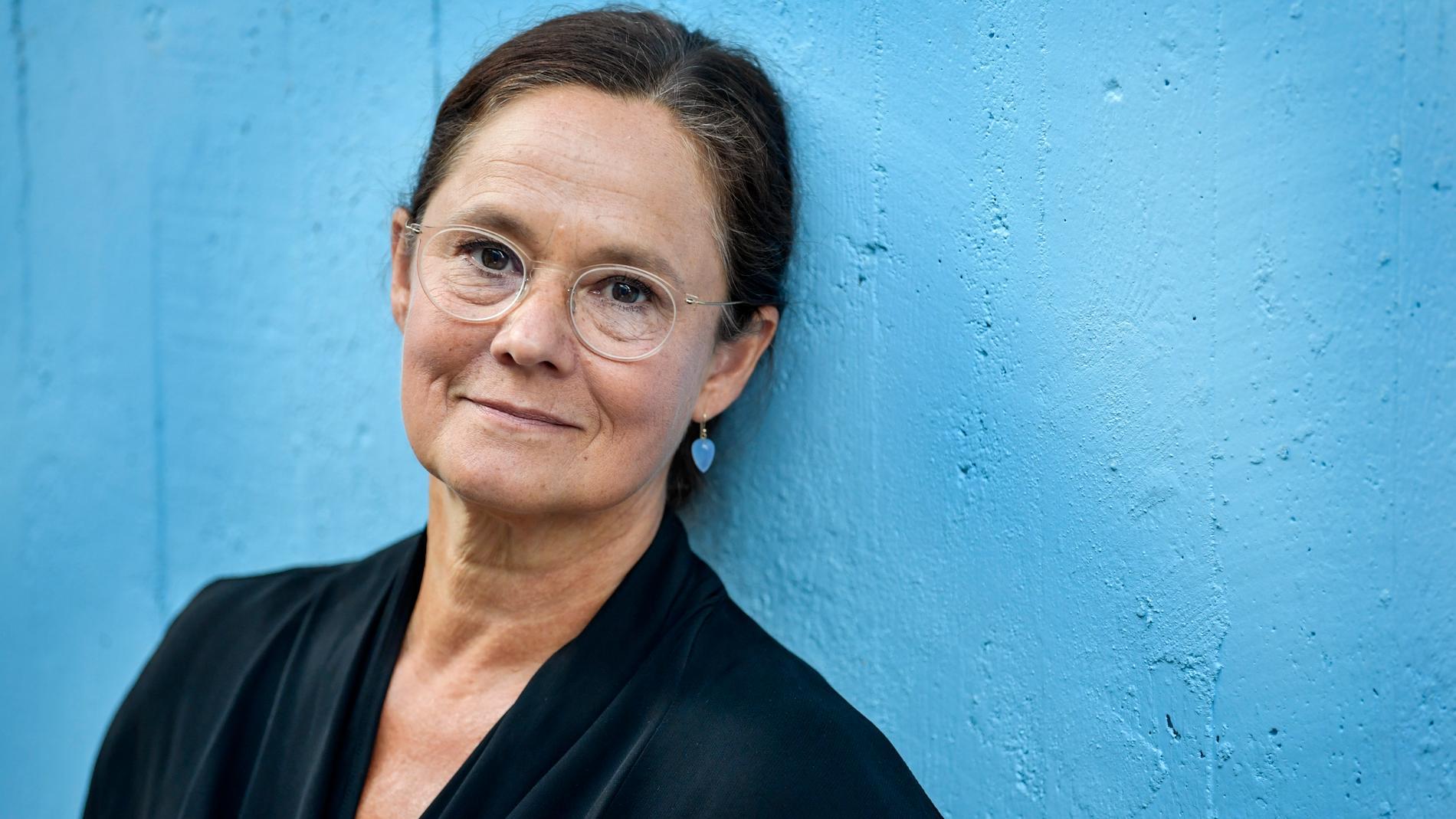 """Pernilla August ska medverka i den danska serien """"Förhöret"""". Arkivbild."""