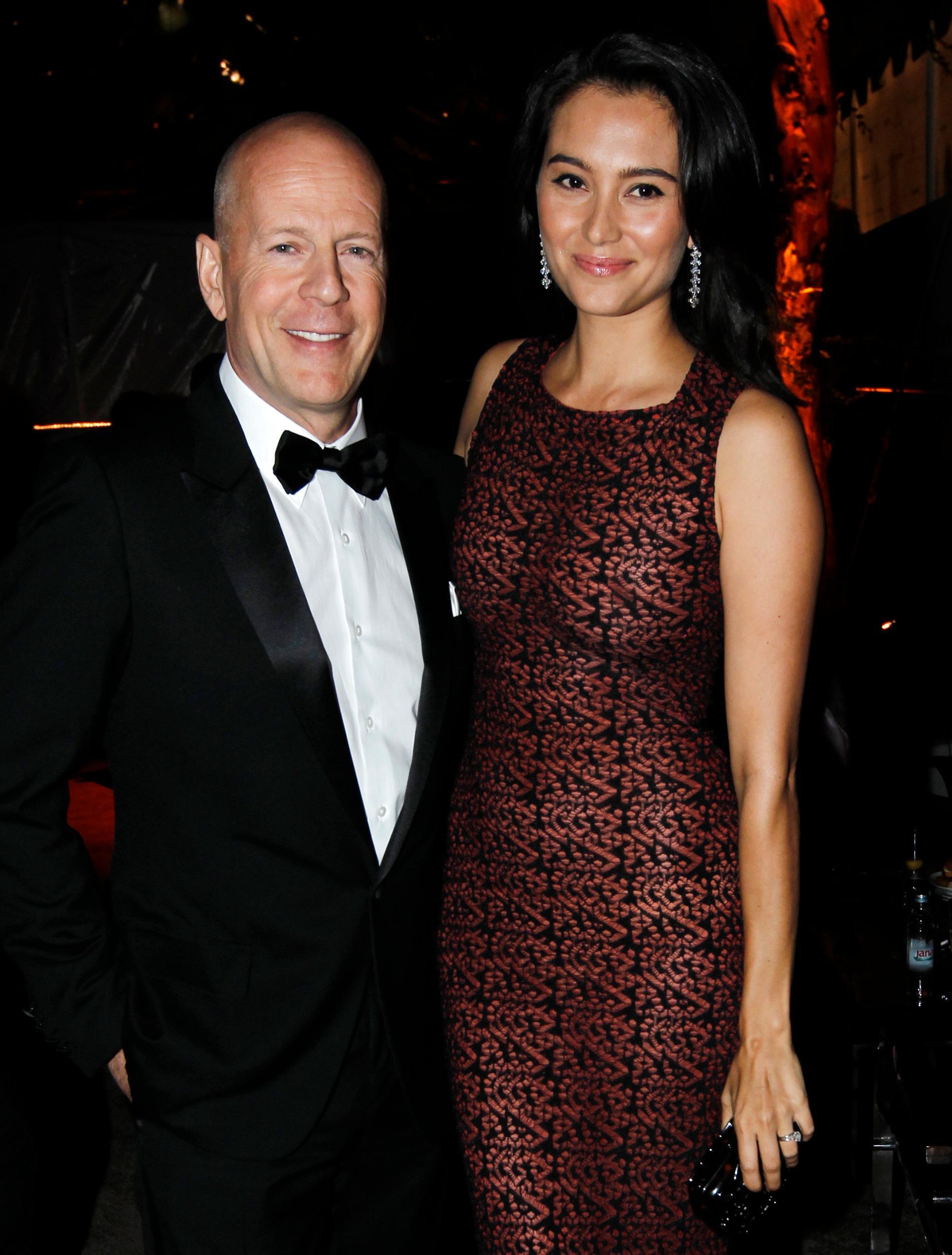Bruce Willis och Emma Heming Willis.