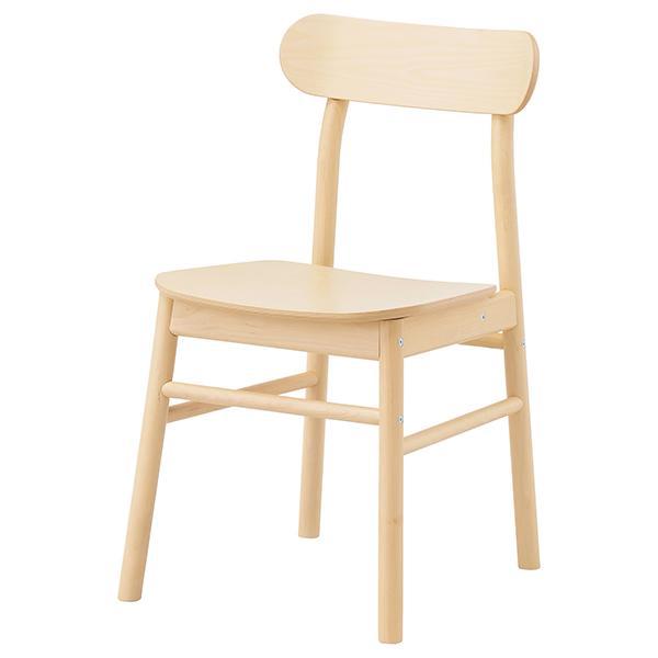Stol i björk Rönninge, 795 kr, Ikea.