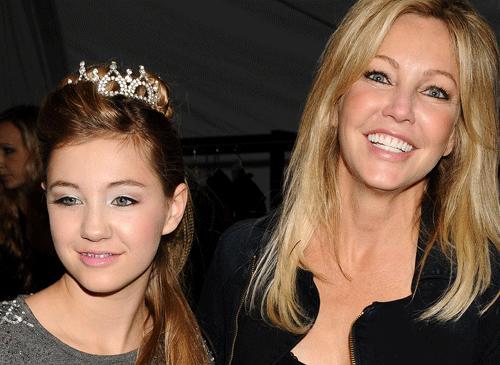 Heather Locklear med dottern Ava Sambora.