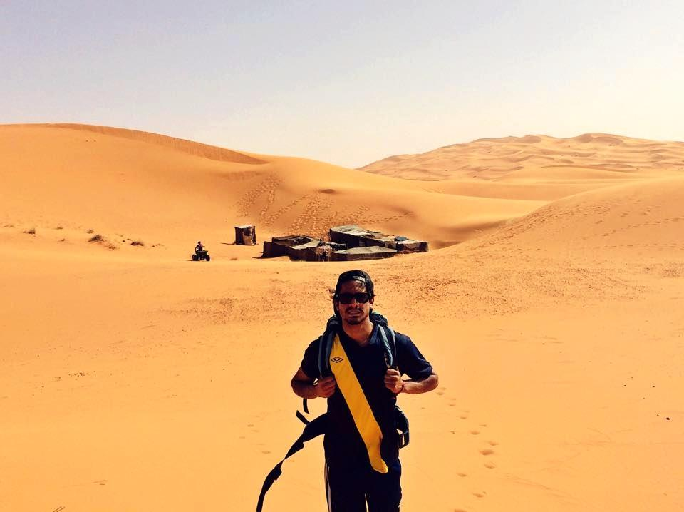 Merzouga ligger nio timmar från Marrakech.