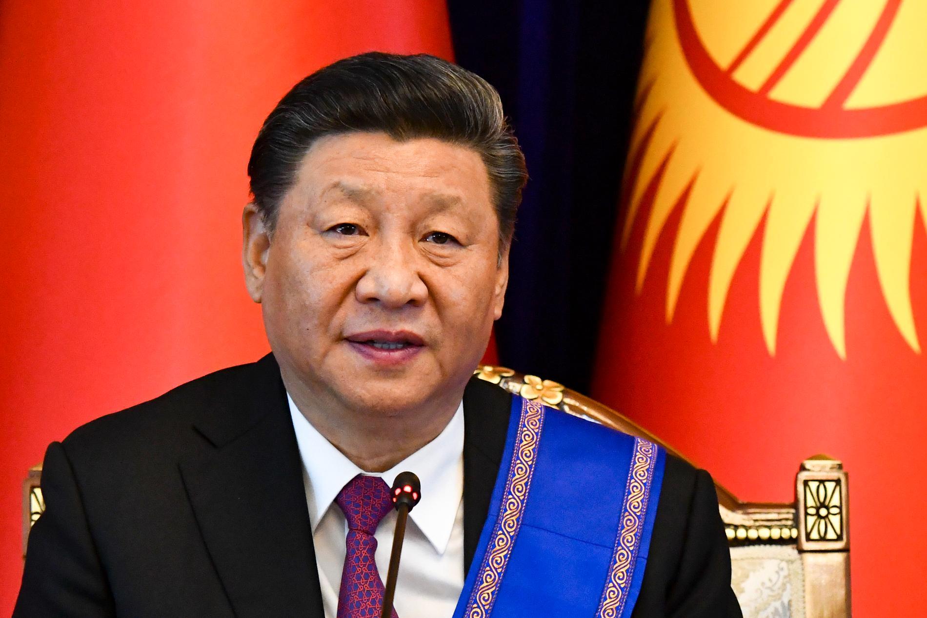 Kinas president Xi Jinping behöver visa sig stark utan att riskera kritik från omvärlden när han hanterar protesterna i Hongkong, enligt Kinakännaren Tim Rühlig. Arkivbild.