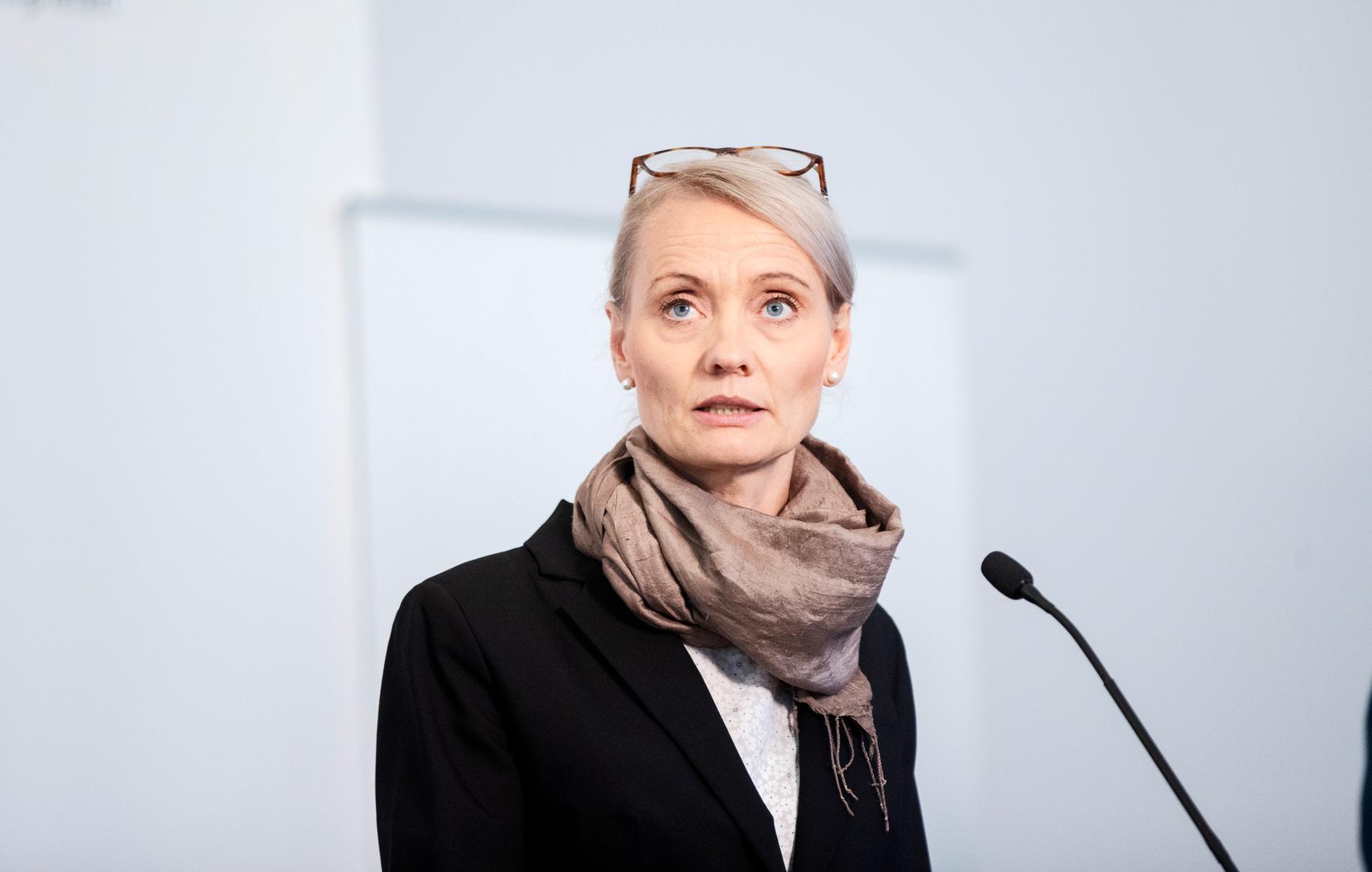 Karin Tegmark Wisell på Folkhälsomyndigheten.