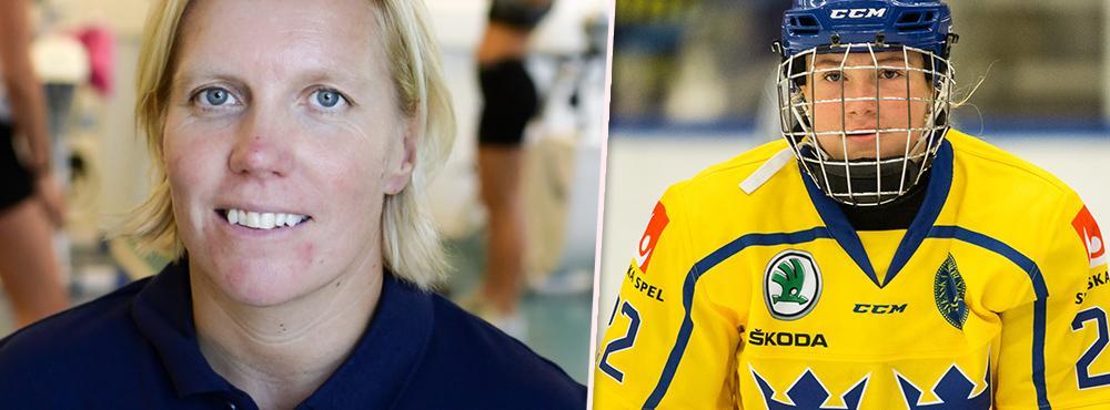 Ylva Martinsen har inkasserat sin första seger som förbundskapten. Bland annat tack vare unga stjärnskottet Lina Ljungblom som målade på nytt.