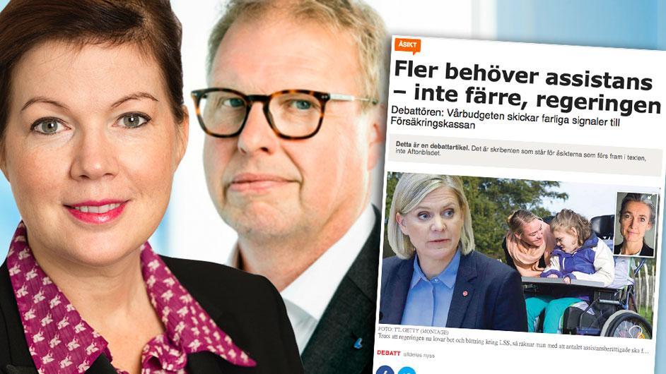 I januariavtalet var återupprättad assistans en prioriterad fråga för Liberalerna. Inte för att den direkt berör de många människorna – men för att dem den angår, angår den verkligen i grunden, skriver Anna Starbrink och Bengt Eliasson (L).