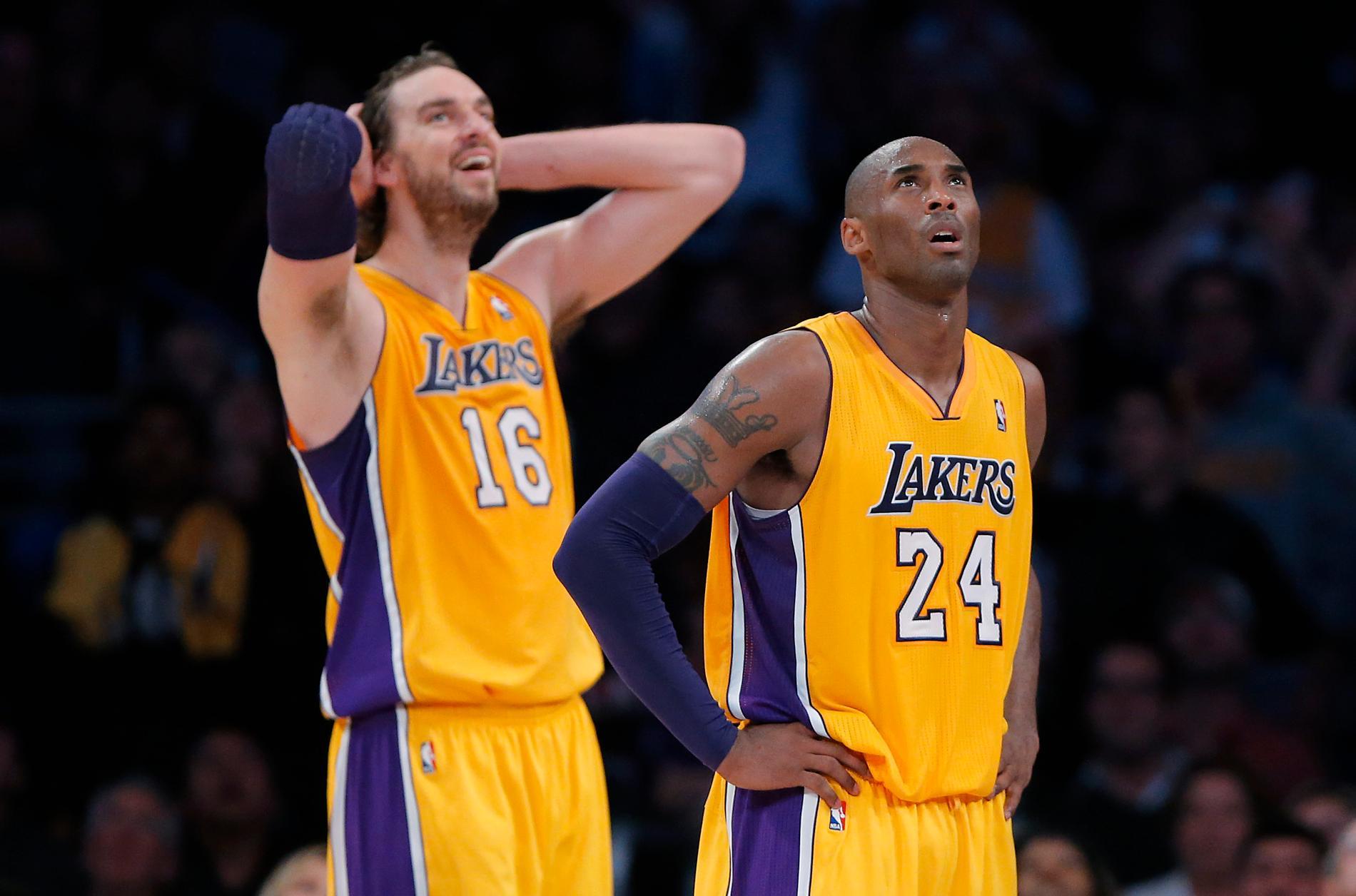Pau Gasol och Kobe Bryant