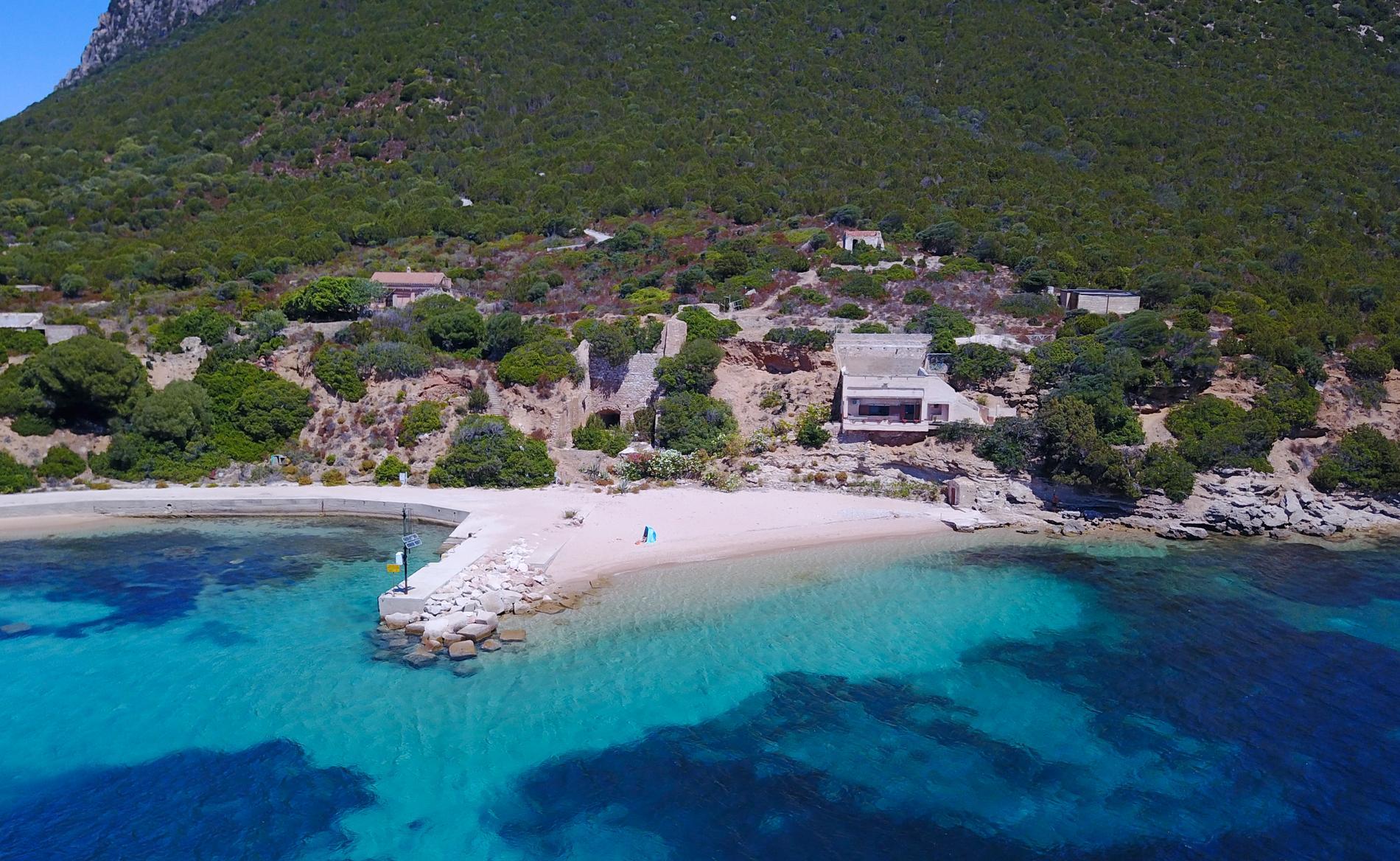 Alla stulna snäckor och stenar ska flyttas till ön Tavolara.