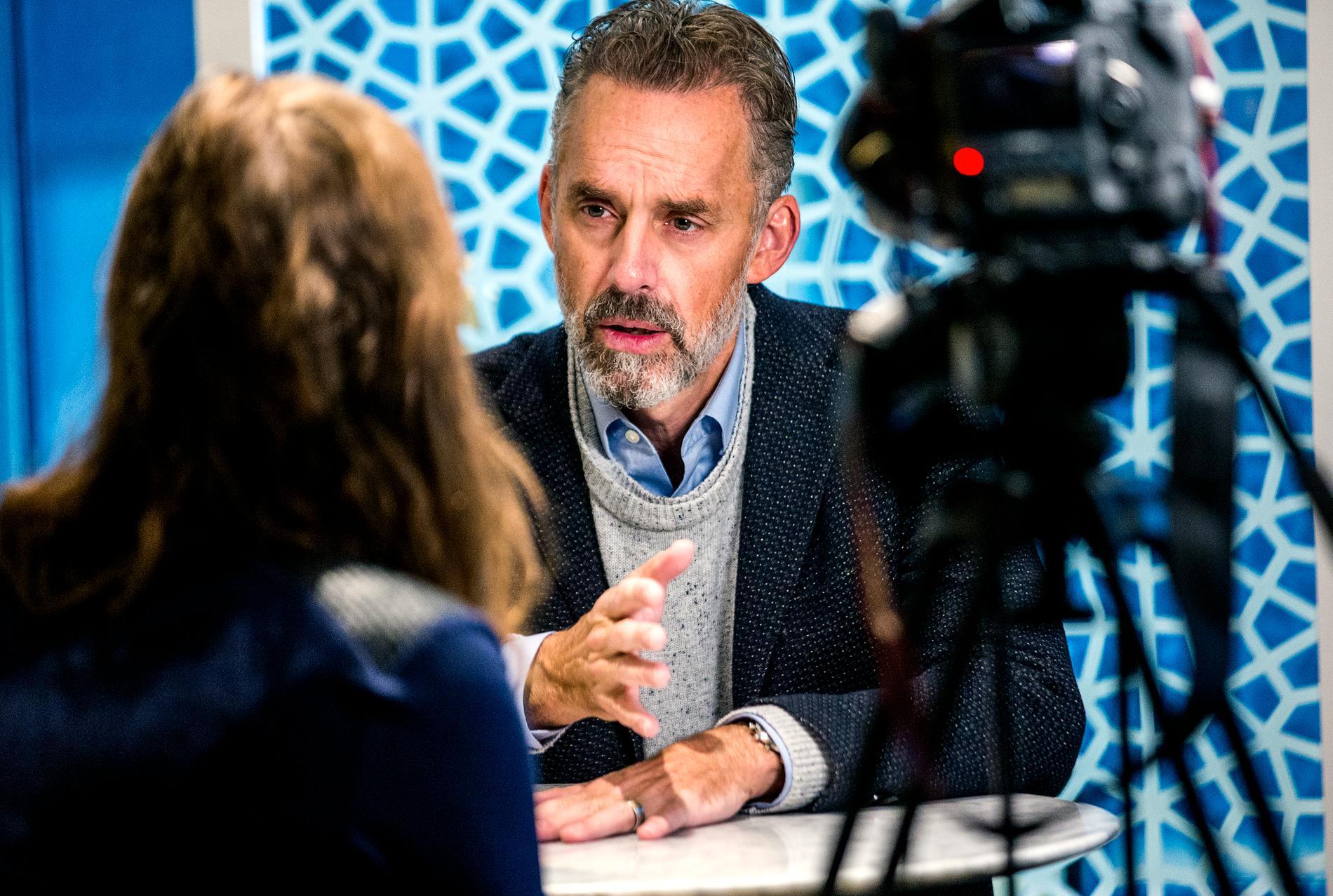Psykologiprofessor Jordan B Peterson är pophögerns nya idol
